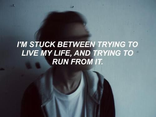 Life, Quote, And Grunge Image