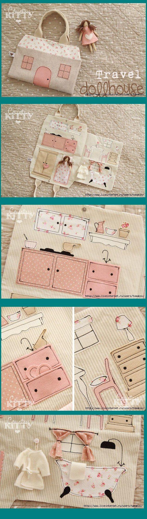 35 ideas para hacer una casita de muñecas #toydoll