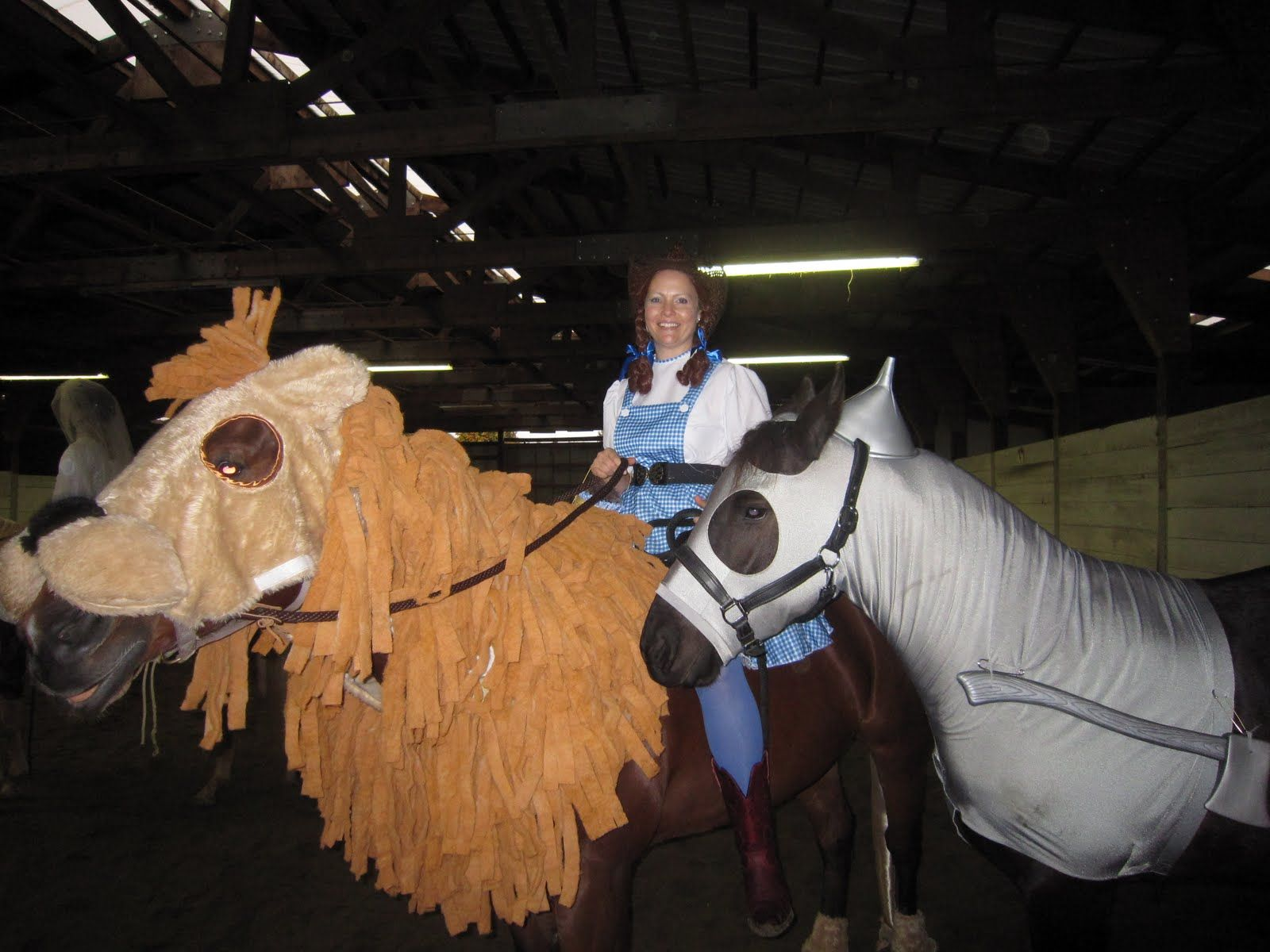 Cowardly Lion and Tin Man from The Wizard of Oz | Horse Costumes ...