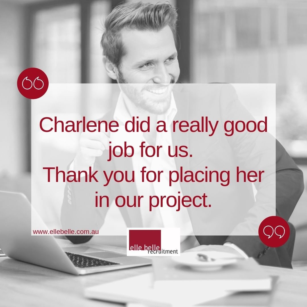 A little bit of feedback from one of our great clients