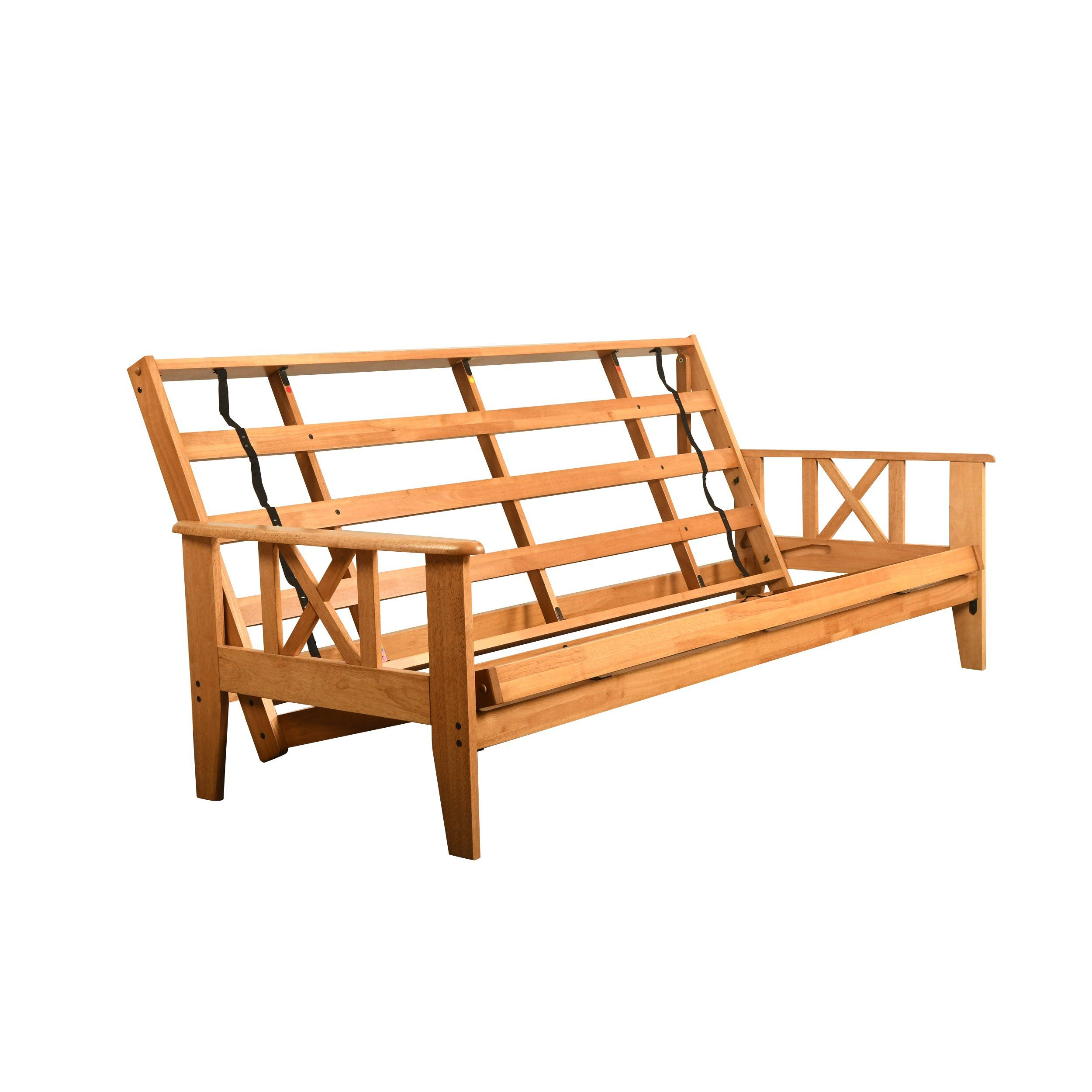 Excelsior Honey Wood Futon Set Frame And Mattress Choice To Add Drawer Set Popular Color Spectrum Fabrics Frame And Ma Futon Frame Futon Sets Mattress Frame Wooden futon frame and mattress set