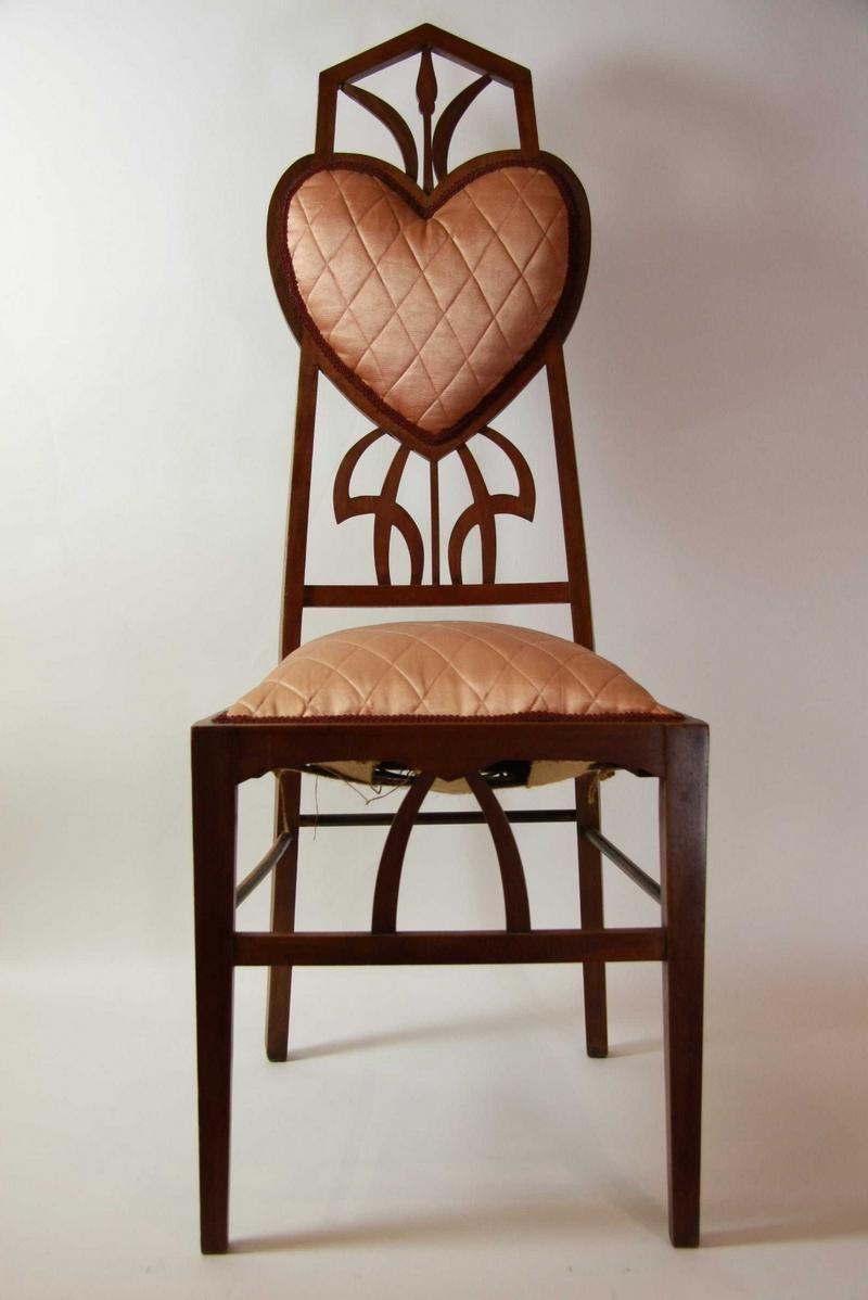 An art nouveau chair circa fine decorative arts