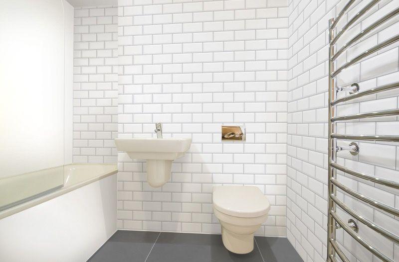 Topps Tiles Visualiser Wet Room Metro White Smoke Grout Grey Rectangle Large Tiles Bathroom Wall Colors Room Visualizer White Tiles Grey Grout