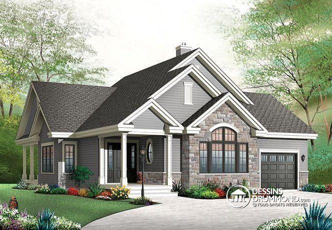 Plan de maison no W3235-V2 de dessinsdrummond rekabina - site pour plan de maison