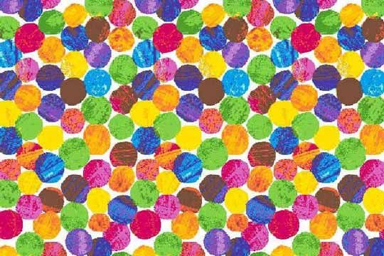 Photo of Cotton Fabric Illustrated by Eric Carle