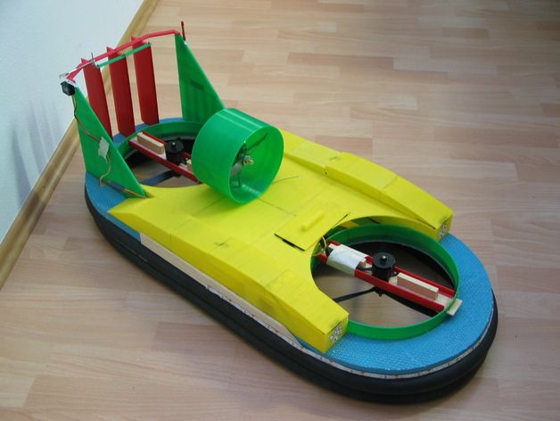 3D-Printed Hovercraft by Jetpilot212 - Thingiverse | 3D