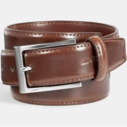 Cinturón de cuero, strellson marrón