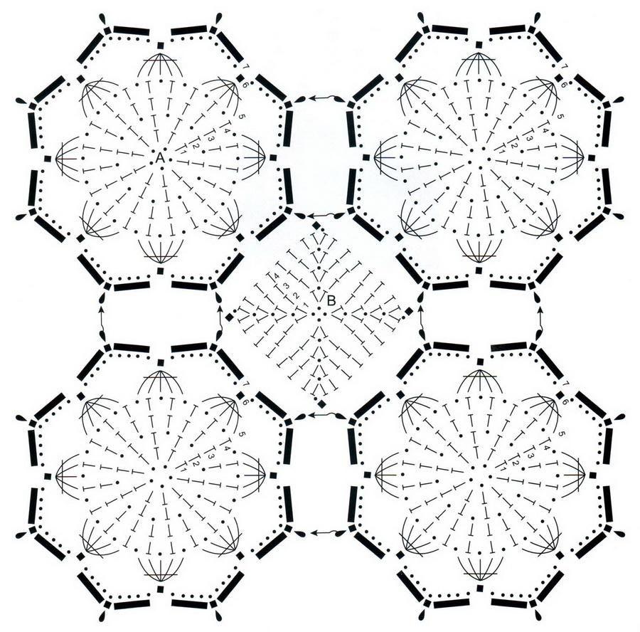 Crochet Chales: Gratis Crochet Pattern - abrigo del mantón elegante ...