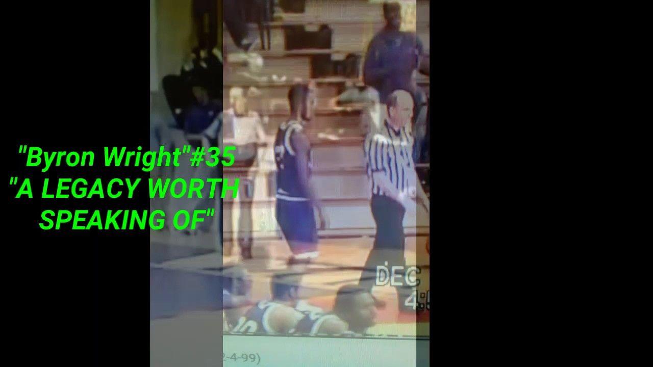 """Cairo's Basketball History""  Byron Wright #35"