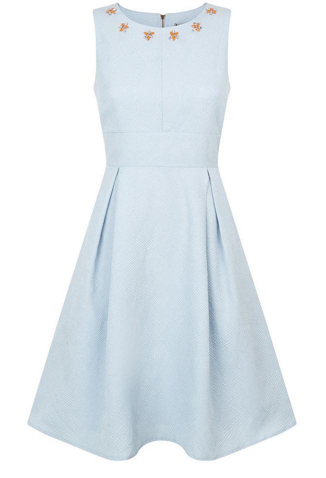 lichtblauw kleedje