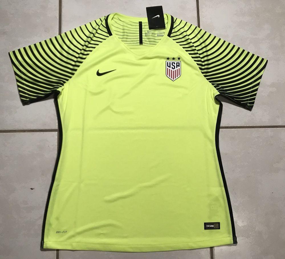 8f7c64760 NWT NIKE USA National Team 2016 Goalkeeper Guardian Jersey Women s ...