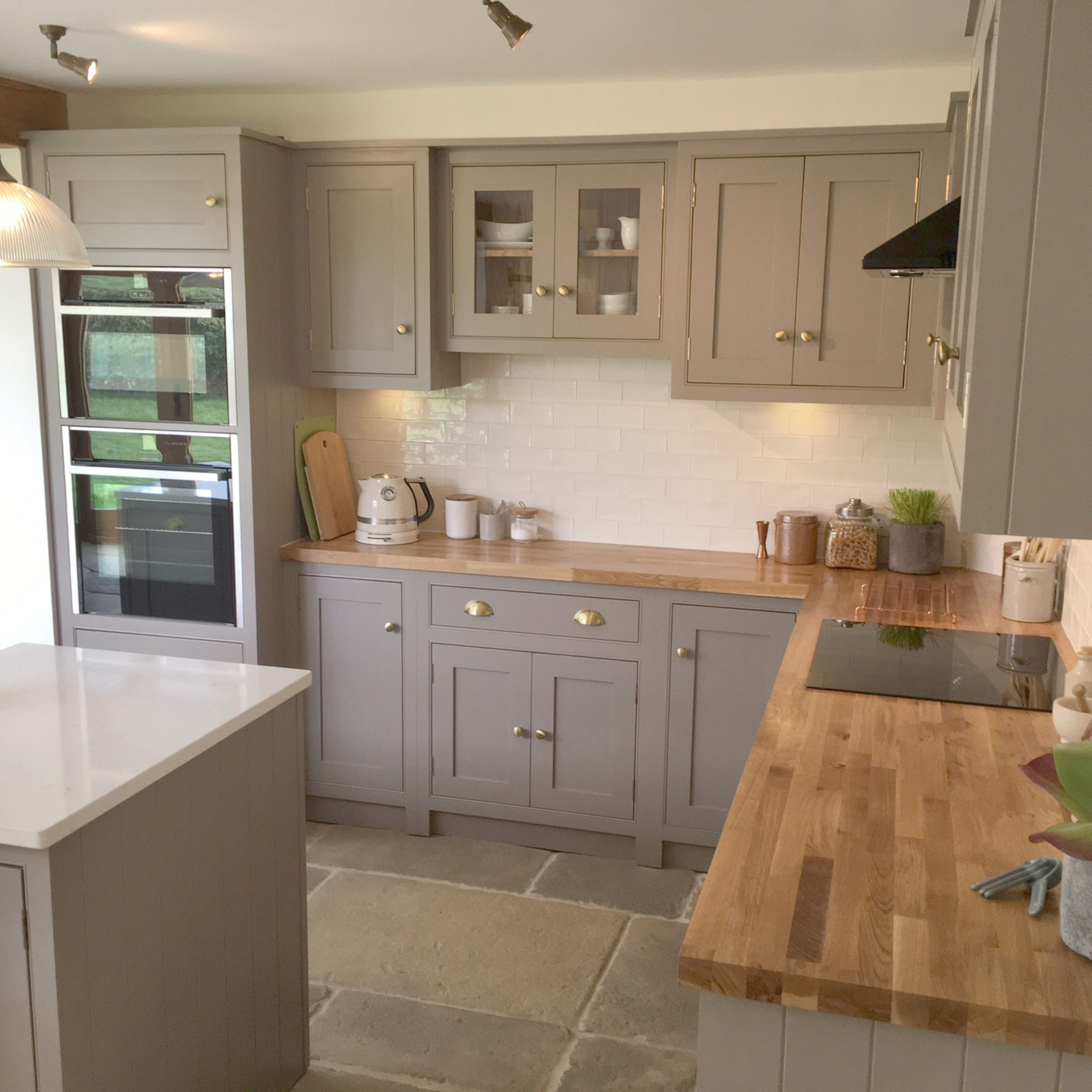 A simply beautiful example of a country cottage kitchen