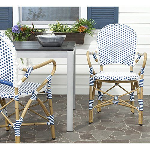 Safavieh Home Collection Hooper Blue White Indoor Outdo