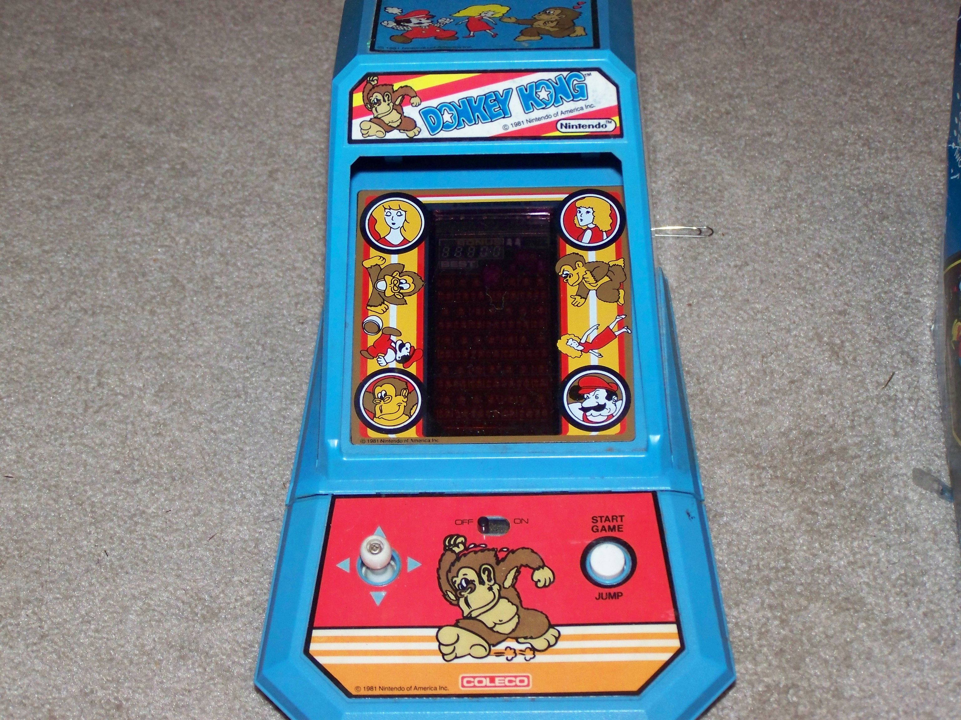 Donkey kong the ds of the 80s 80s toys donkey