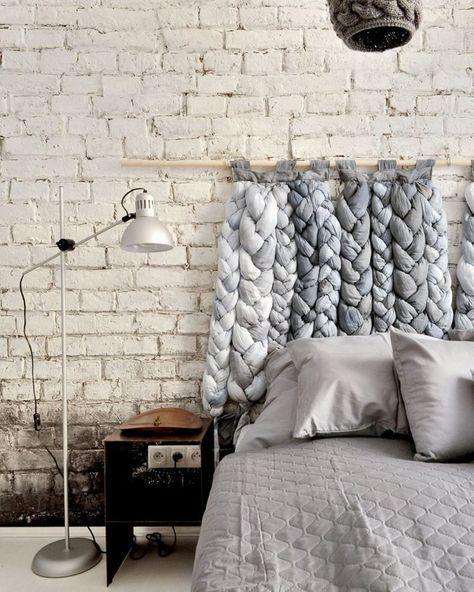 Comment fabriquer une tête de lit en mode DIY ? | Diy tete ...