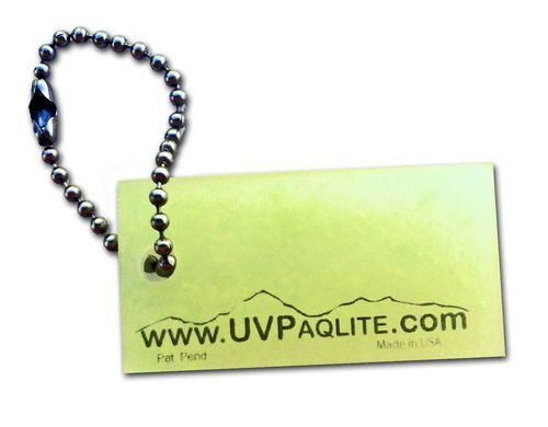 The Solar Light Company - UVPaqlite Gear Tag, £4.95 (http://www.thesolarlightcompany.co.uk/uvpaqlite-gear-tag/)