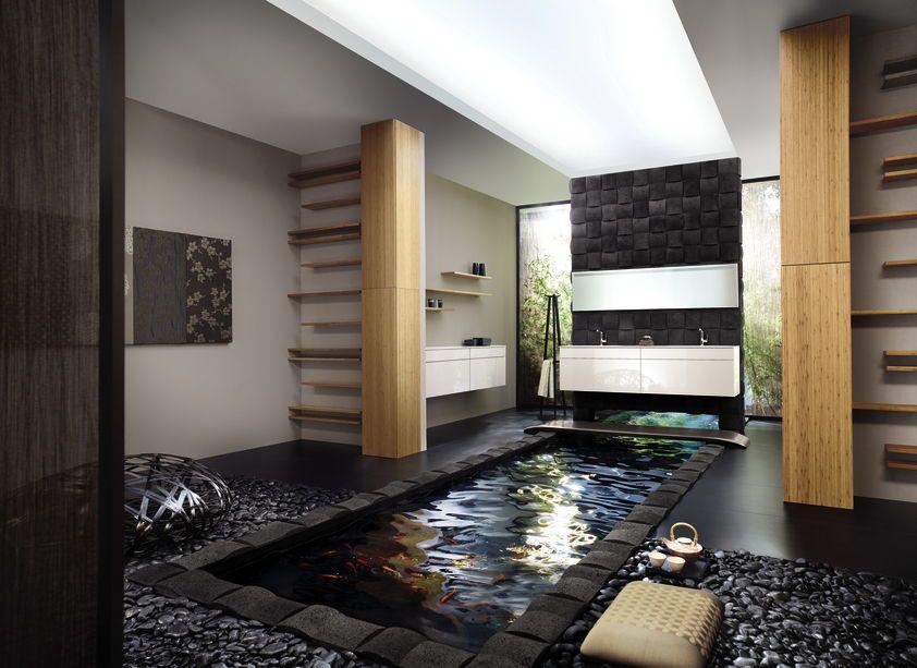 Was Fur Ein Traumbadezimmer Ein Grosses Bad Mit Leben Zu Fullen Ist Eine Faszinierende Kreative Herausforderung