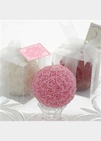 *Rose candles - potential favours