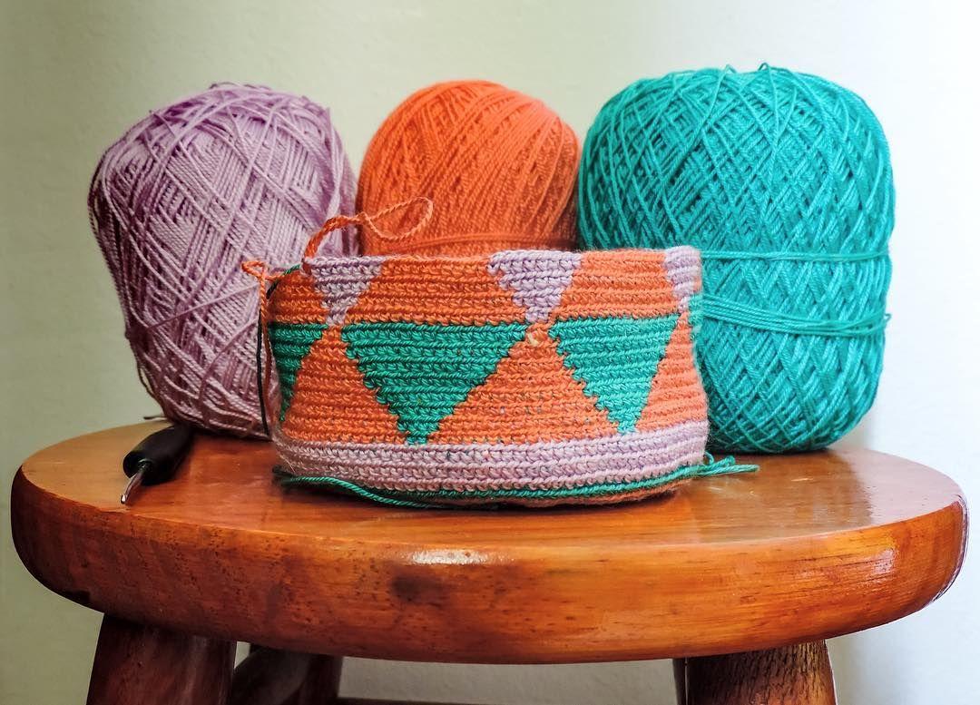 #colorindo #artesanato #feitoamao #croche #inspiração #wayuu