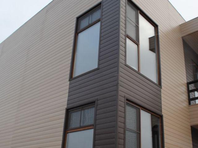 Holz Kunststoff Aussenwandtafel Verkleidung Wande Holz Und Haus