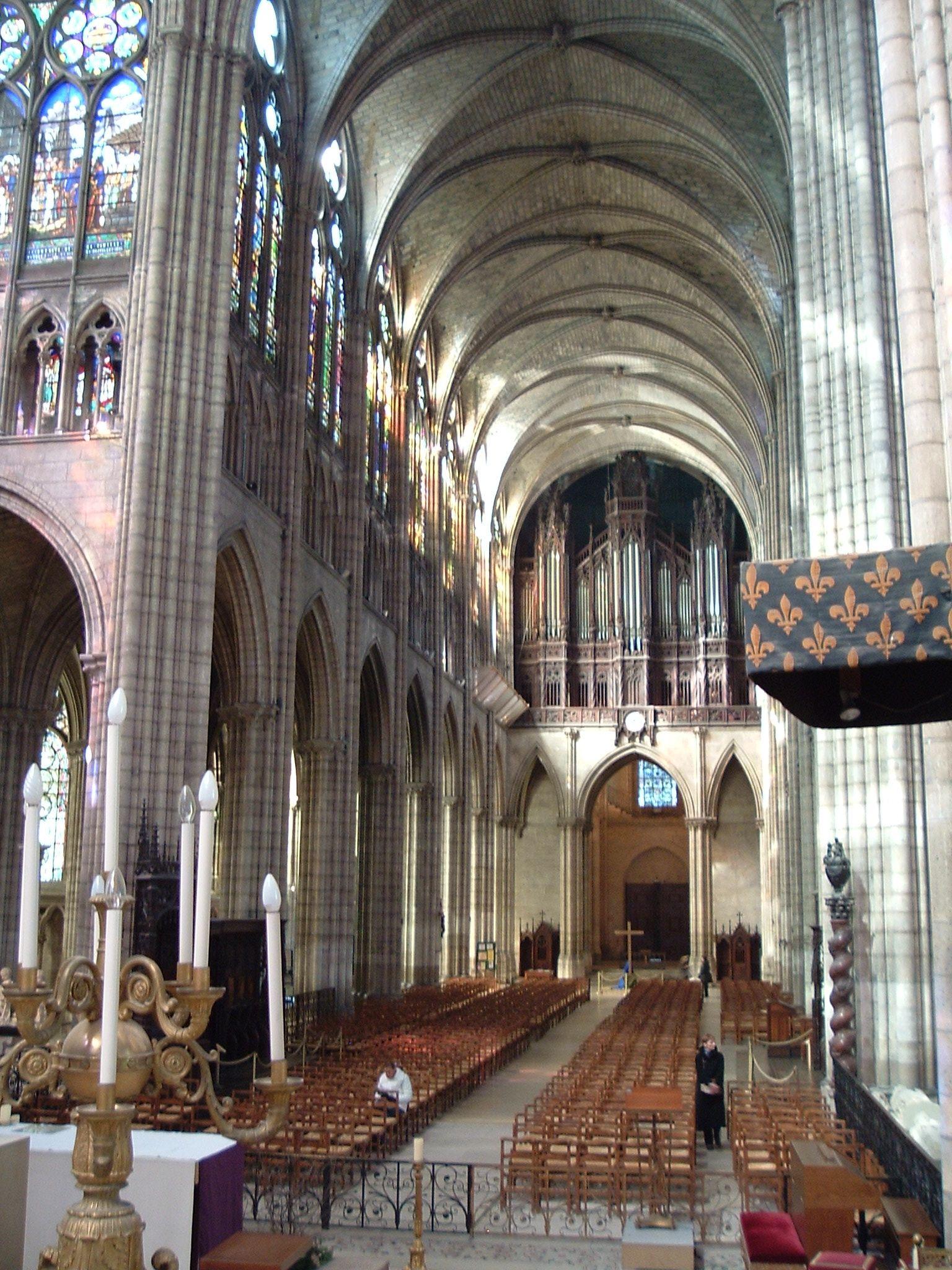 Abbey of Saint-Denis (Paris). Basilica of Saint-Denis. Sights of France 72