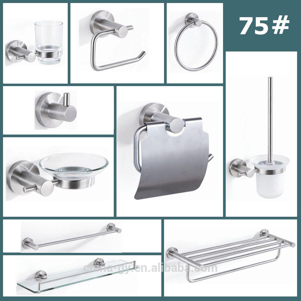 Stainless Steel Bathroom Accessories | Bathroom Accessories ...