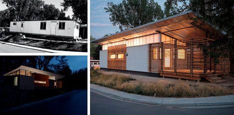 Modern mobile home remodel