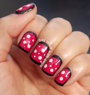 Boxed in Polka Dots