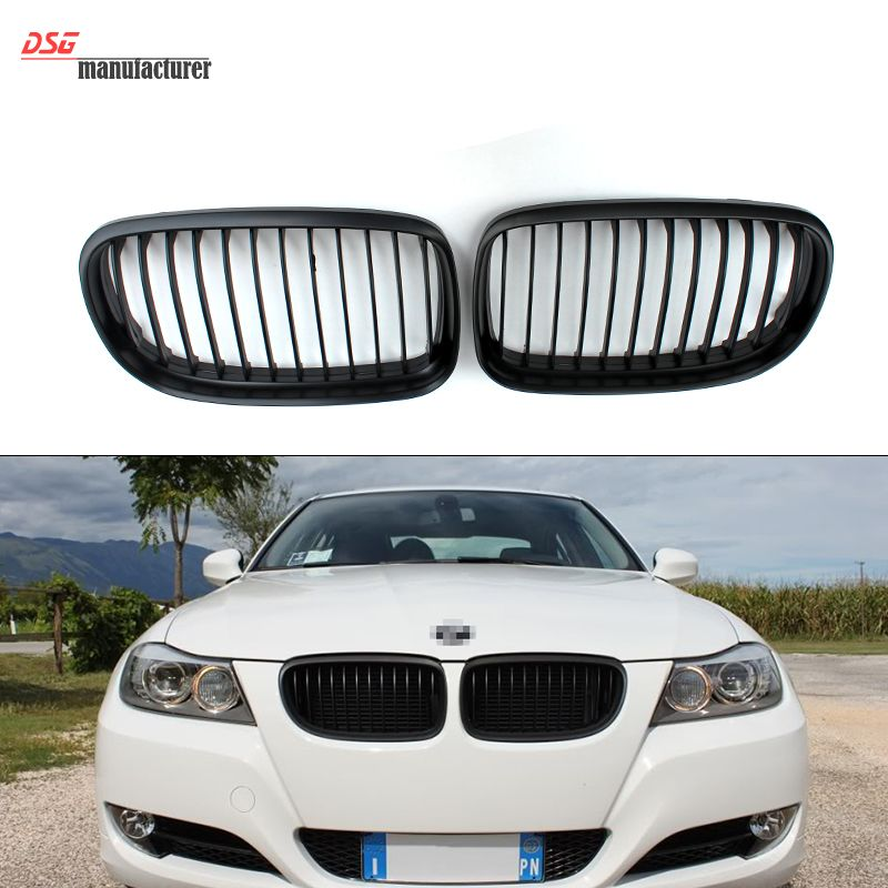 Abs Front Kidney Grill Bumper Grille For Bmw 2008 2011 3 Series E90