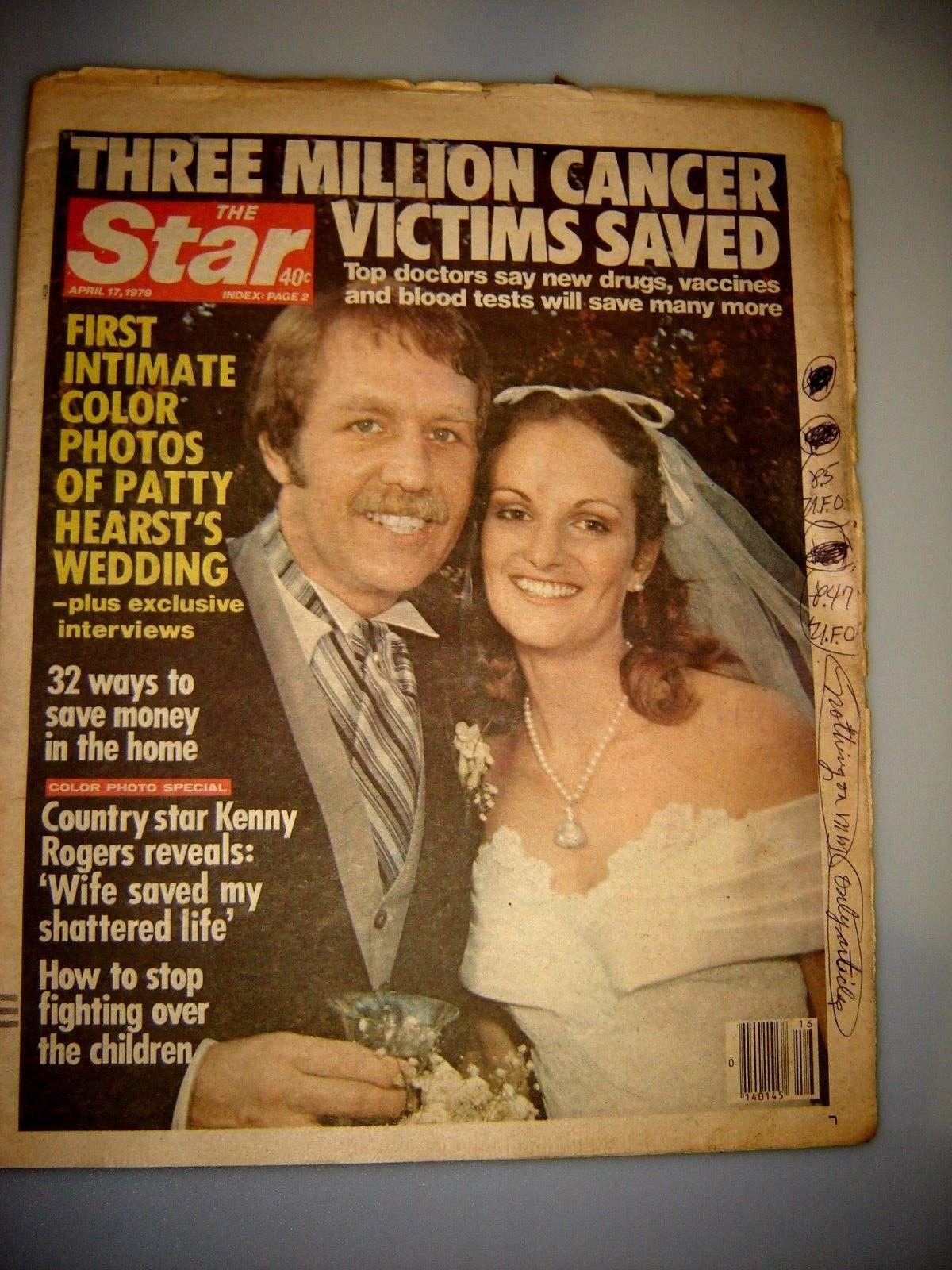 The star april patty hurst wedding ufo story kenny