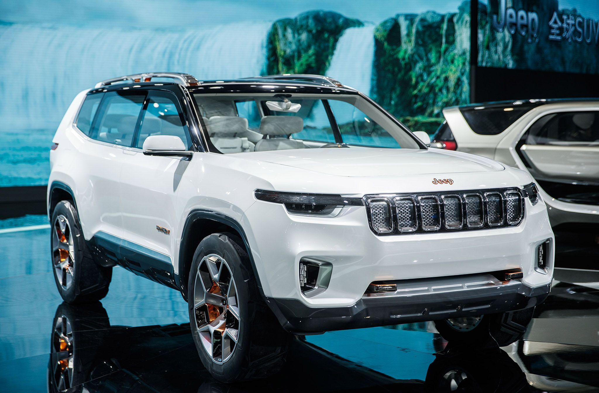 Jeep Recently Displayed The Jeep Yuntu Concept At The 2017