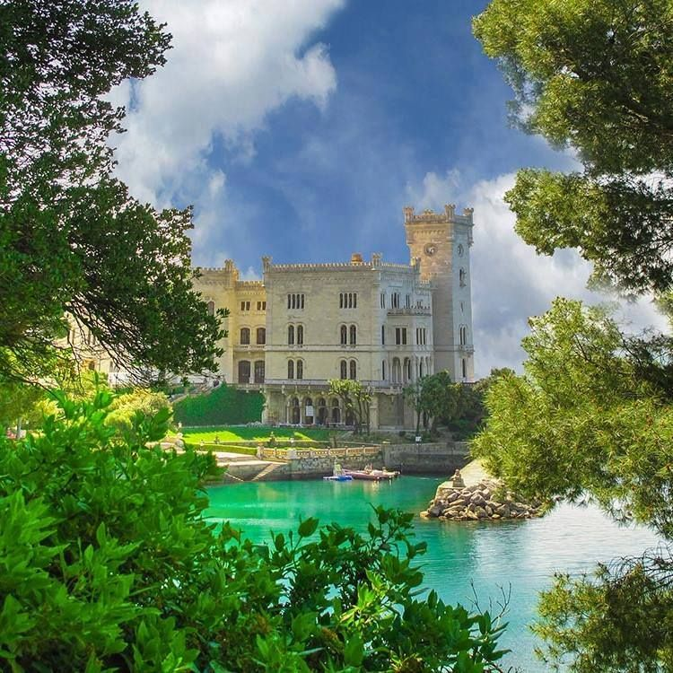 Miramare Castle,Trieste, Italy