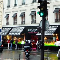 Check out what I bought at Fauchon, Paris. Macarons of course, a must!