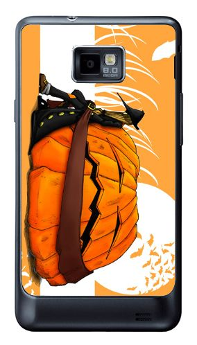 www.pocomdesign.com » Samsung Galaxy S2 et S3 – Art Cover - Personnalisation d'une coque de samsung avec l'illustration Halloween Orange