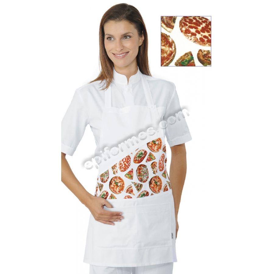 b83b5fd9dba DELANTAL CON PETO CORTO PIZZA | ROPA PARA RESTAURANTES ITALIANOS O ...