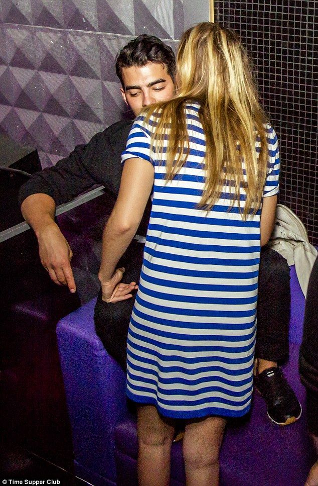 Got a secret? On Saturday night, the 20-year-old model was spotted whispering into the 25-...