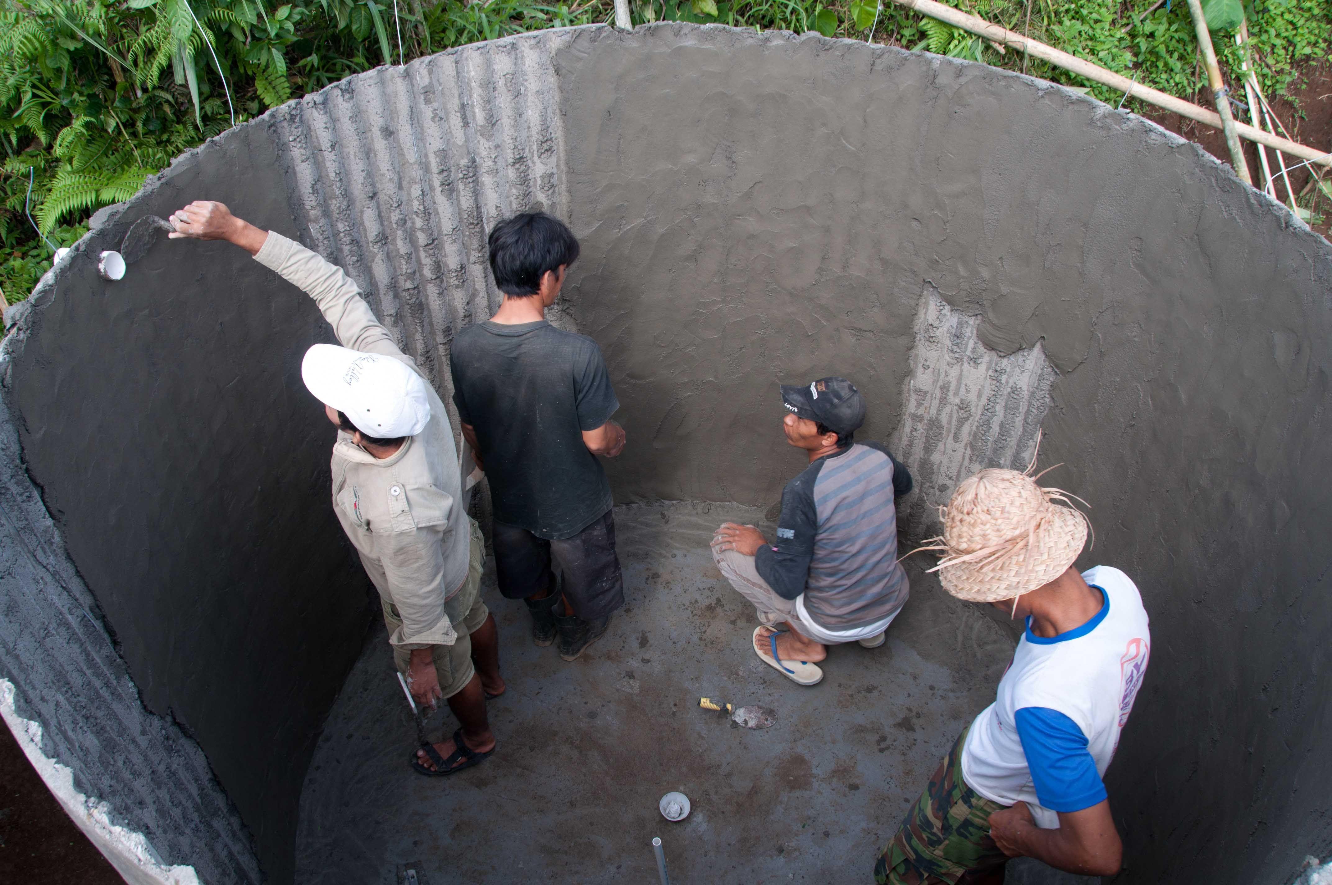 Core Solutions Indonesia Building Ferro Cement Rain
