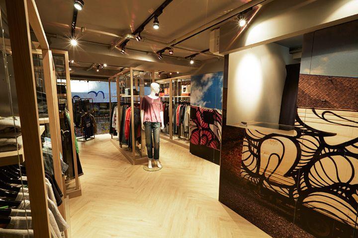 Evisu concept store, Hong Kong