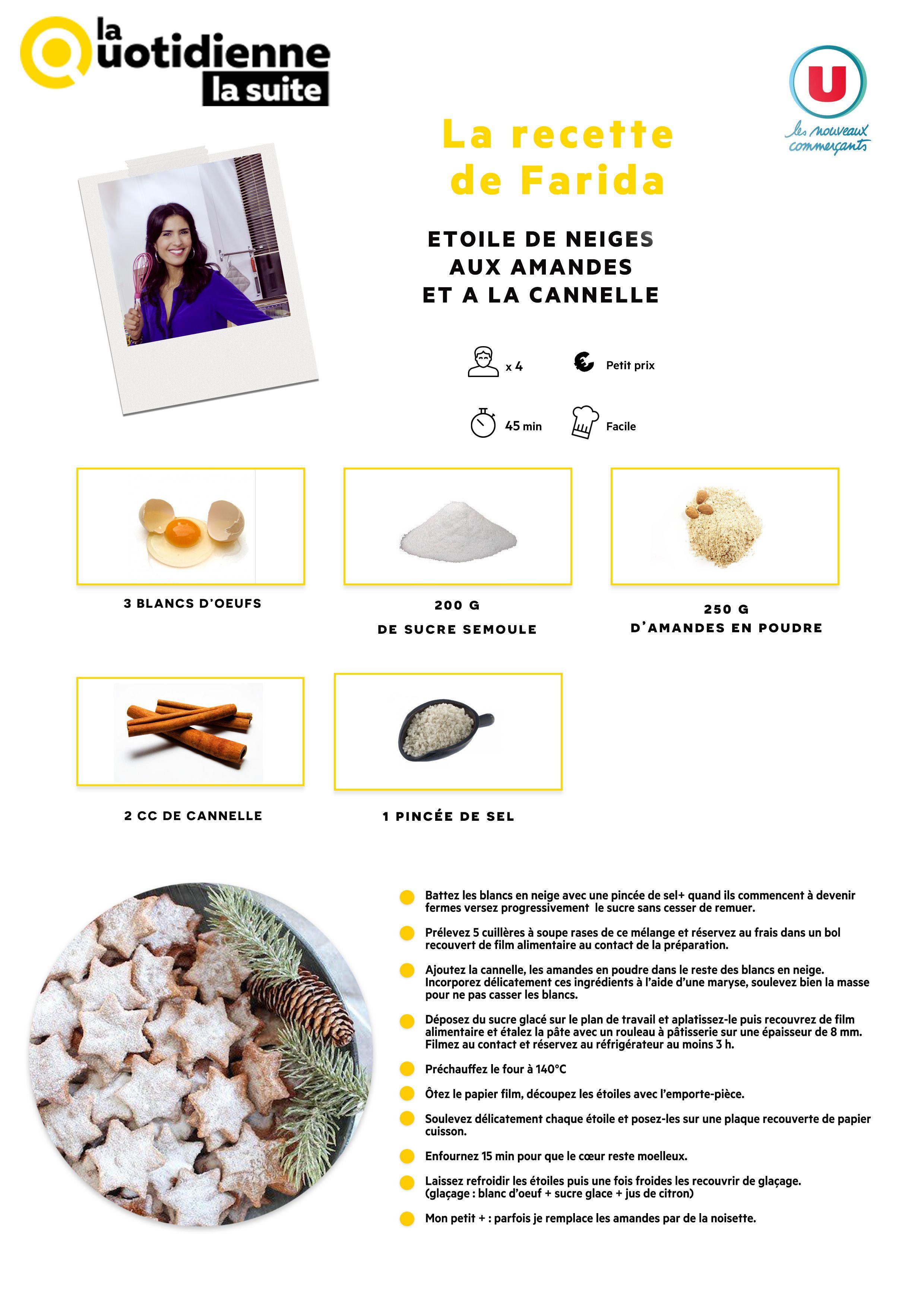 Toutes Les Recettes De Farida La Quotidienne : toutes, recettes, farida, quotidienne, Recettes, Quotidienne, Suite, France, Cuisine,, Recette,, Sucrées