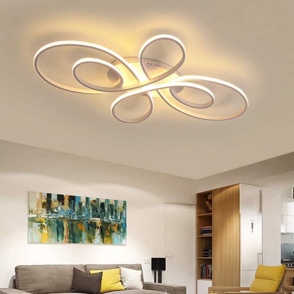 LED Wohnzimmerlampe Modern Schlafzimmer Deckenleuchte Dimmbar