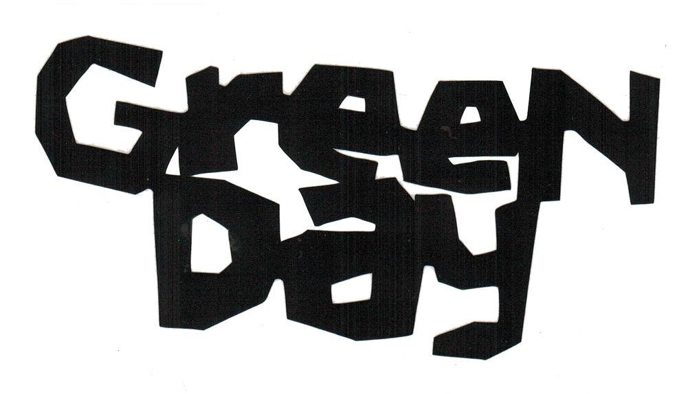 Font Green Day Logo Green Day Logo Green Day Logo Fonts