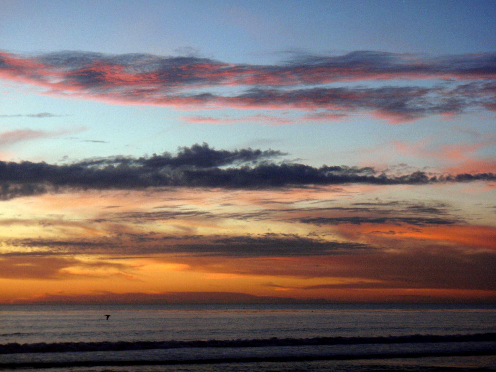 Beautiful sunset, Carlsbad CA