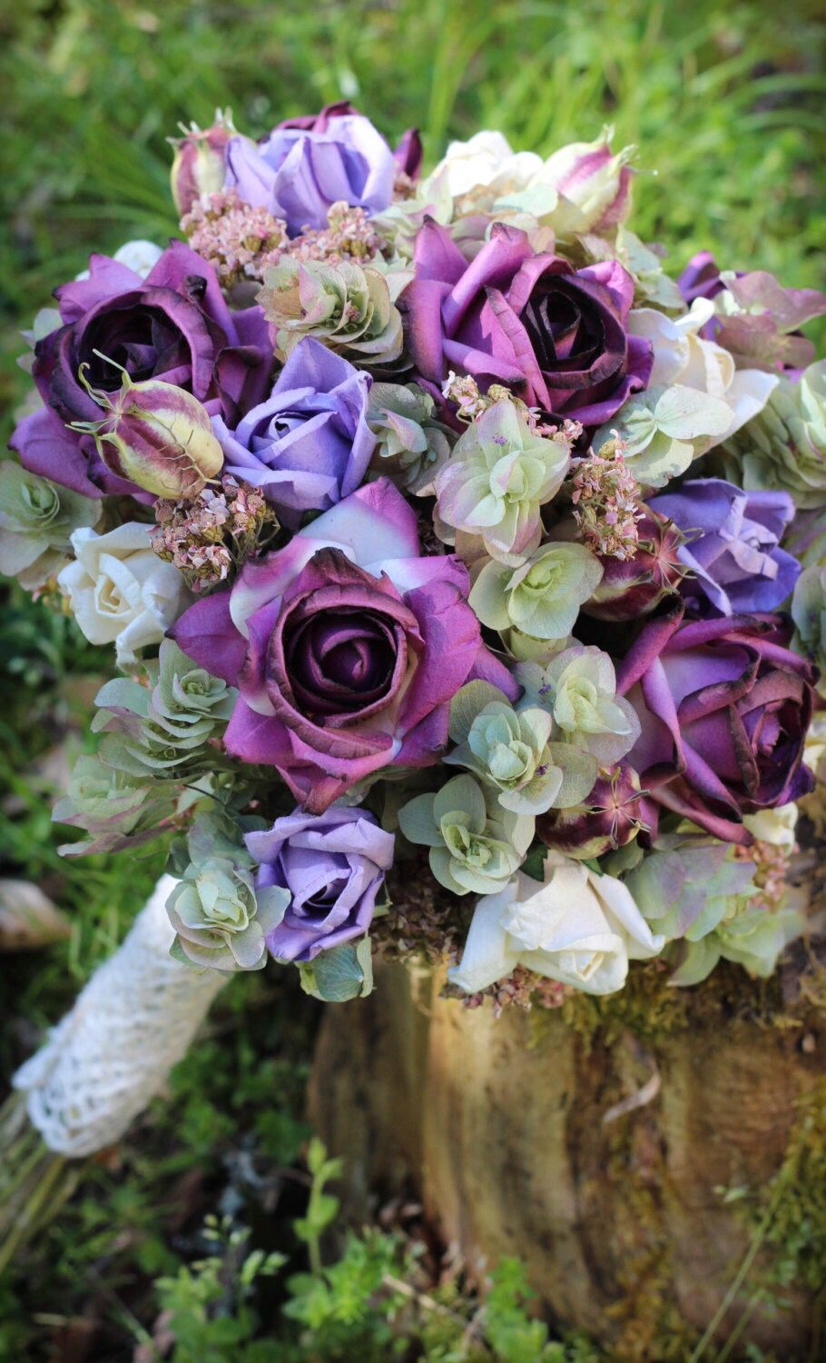 Gorgeous purple dried flower bouquet dried flowers are perfect for gorgeous purple dried flower bouquet dried flowers are perfect for weddings or mothers day gifts izmirmasajfo Images