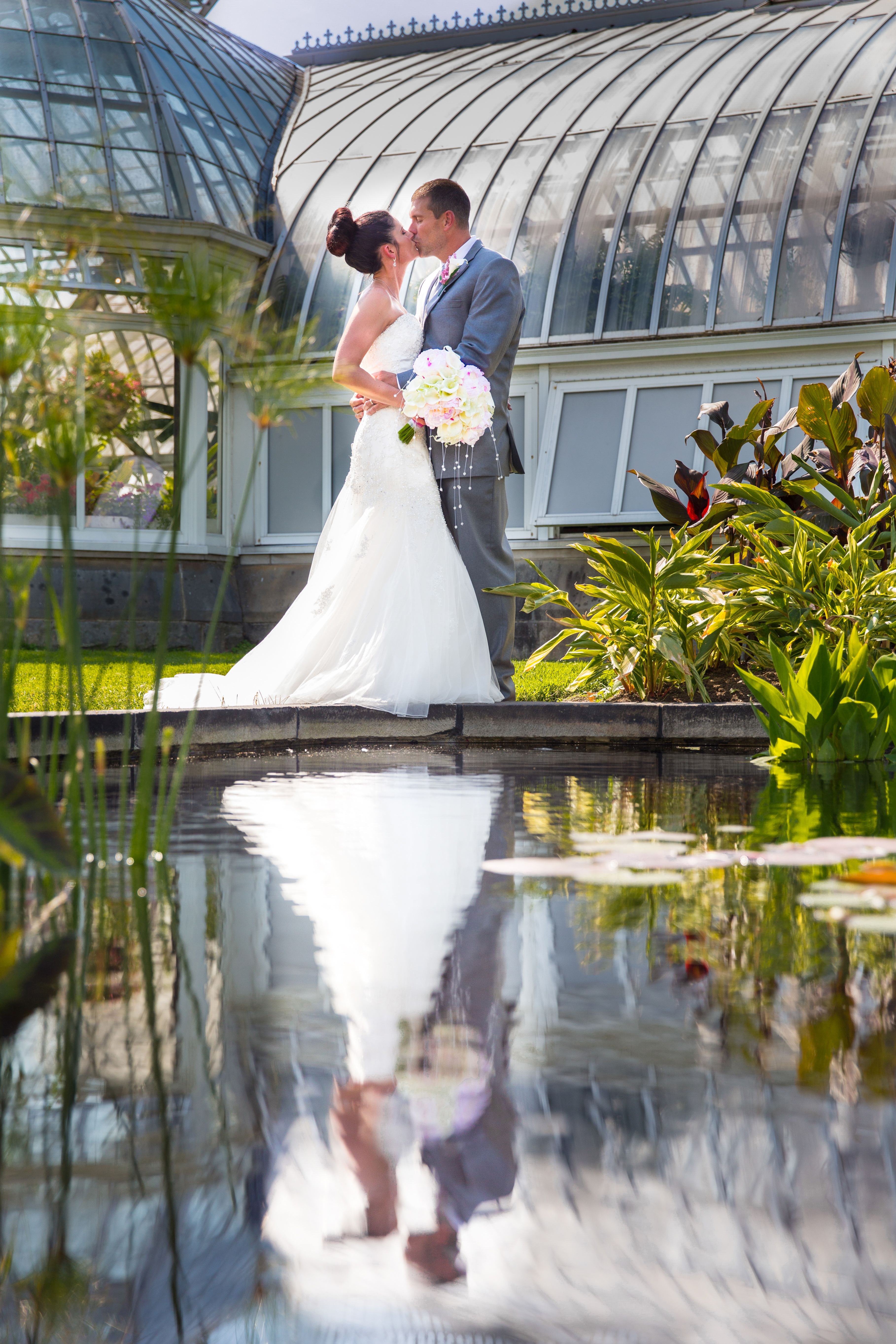 Katherine Sean Phipps Conservatory Wedding Butler Pa Photographer Pittsburgh