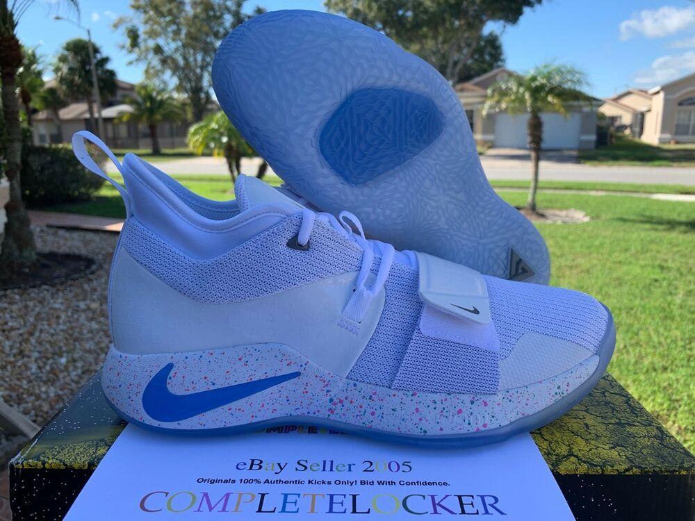 214df5a146a9 eBay  Sponsored New 2019 Nike PG 2.5 Playstation White Multi-Color BQ8388- 100 Mens Shoes SZ 8