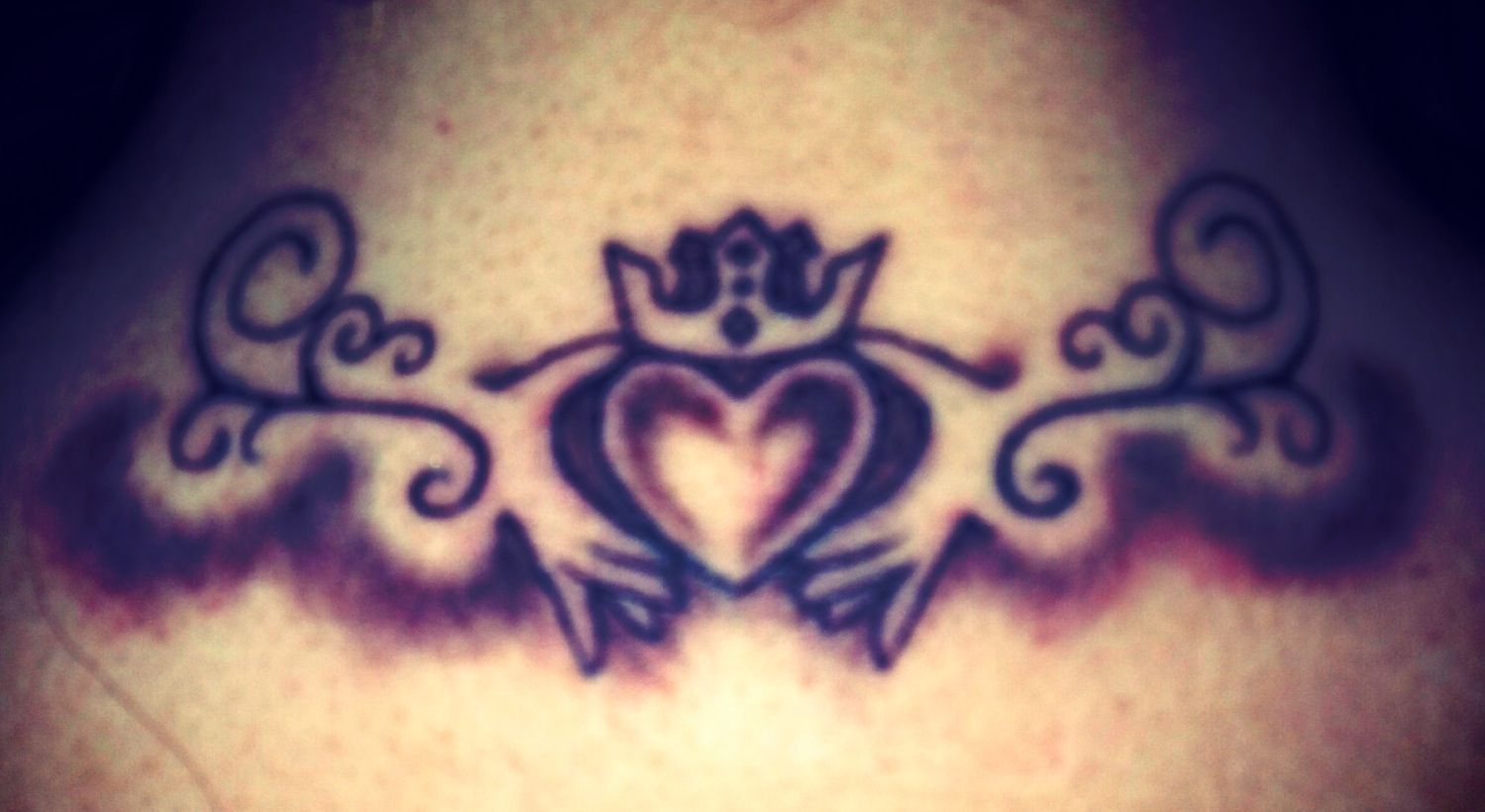 Claddagh Tattoo. Meaning Love Loyalty Friendship