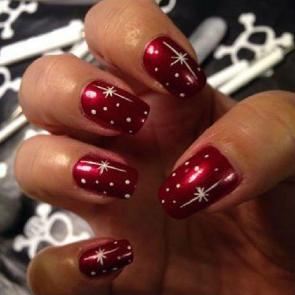 Photo of Christmas nail art: Nail art idea for the holidays