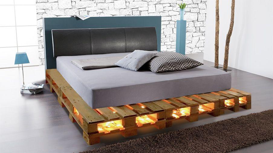 Das Diy Palettenpodest Fur Ihr Wasserbett Mobel Aus Paletten Bett 140x200 Holzpaletten Mobel