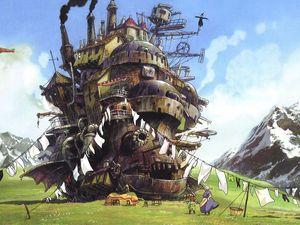 歴代ジブリ作品に登場する戦闘用の兵器一覧 スタジオジブリ ジブリ ハウルの動く城