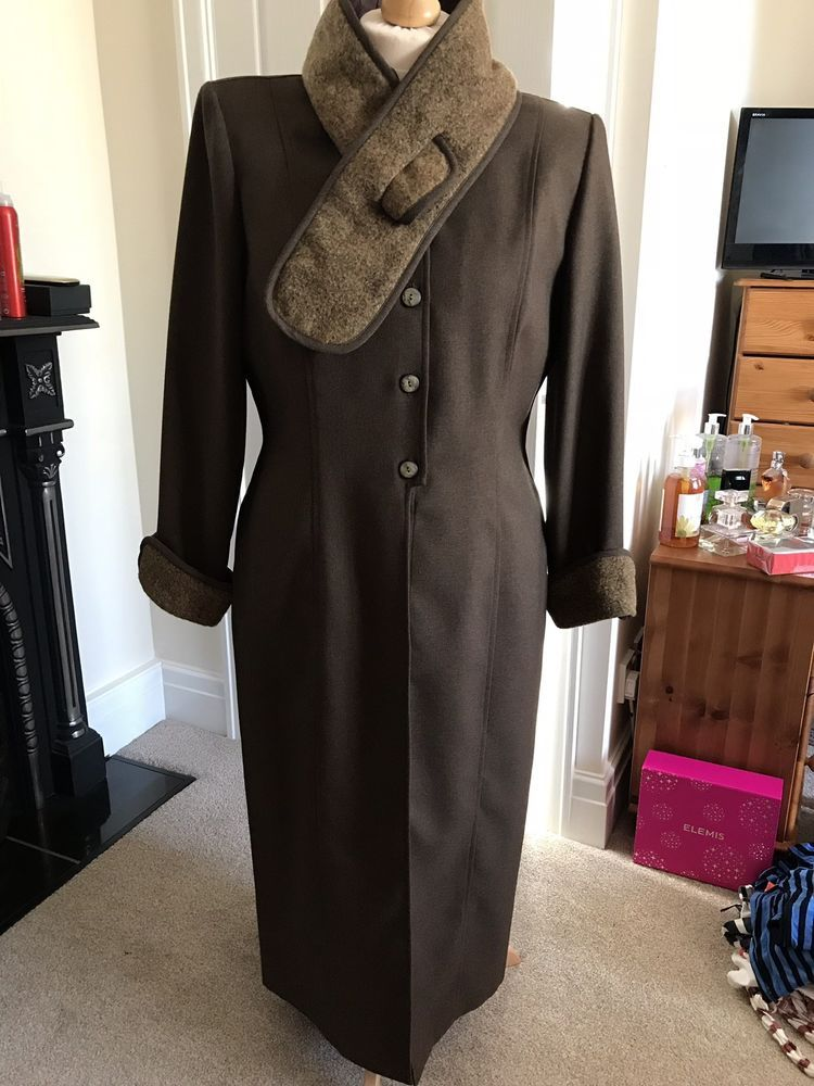 0193d70481d3 Farouche By Lori Weidner Ladies Brown Tailored Trouser Suit - Size  16   18   fashion  clothing  shoes  accessories  womensclothing  suitssuitseparates  (ebay ...